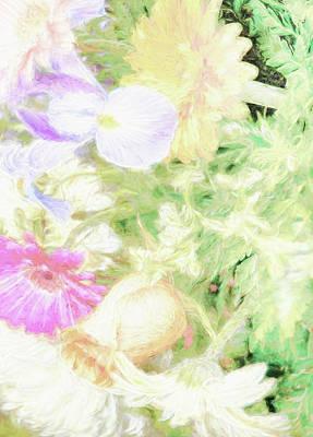 Digital Art - Flower Bouquet - Renoir Effect by Dyle Warren