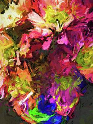 Painting - Flower Colour Love 1 by Jackie VanO
