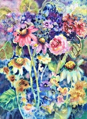 Painting - Flower Melange by Ann Nicholson