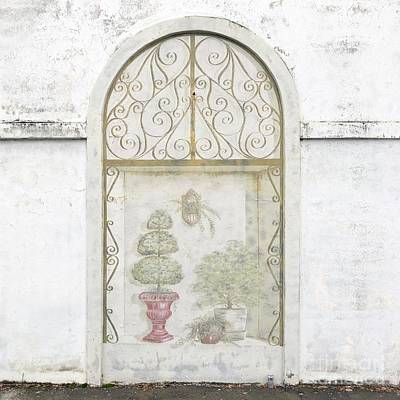 Photograph - Flower Shop Wall by Flavia Westerwelle