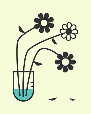 Flower Digital Art - Flowers 2 by Jazzberry Blue