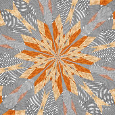 Digital Art - Flowers 64 by Alex Caminker