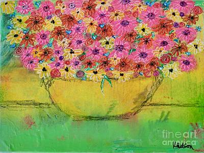 Painting - Flowers For Debbie by Kim Nelson