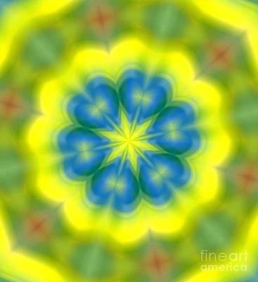 Digital Art - Flowers Number 62 by Alex Caminker
