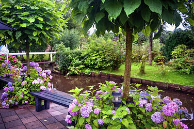 Photograph - Flowers Of Giethoorn. The Netherlands by Jenny Rainbow