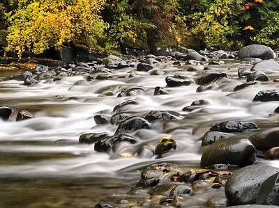 Photograph - Flowing Molalla by Brian Eberly