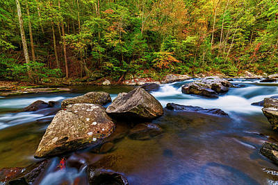 Photograph - Flowing Waters by Andy Crawford