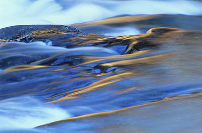 Photograph - Flowing Waters Rushing River Provincial by Mike Grandmaison