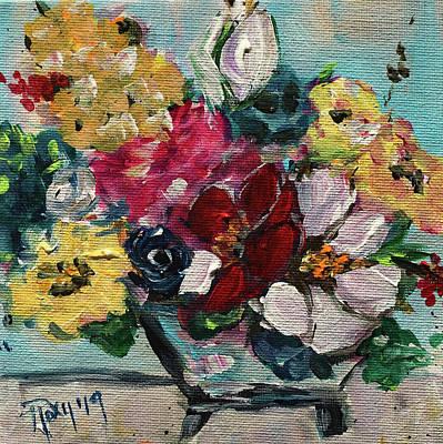 Fluffy Flowers Original