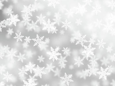 Photograph - Fluffy Snowflakes by Loops7