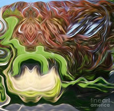 Digital Art - Fluidity by Kathie Chicoine