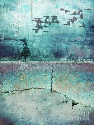 Birds Mixed Media - Fly by Jacky Gerritsen