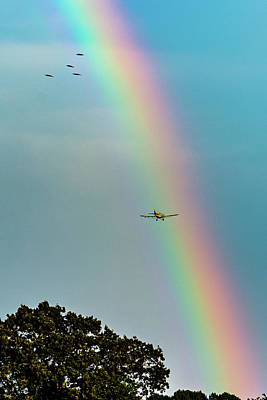 Photograph - Fly Thru Colors by Jack Peterson