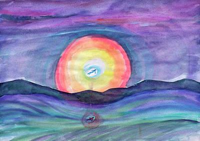 Painting - Flying In A Dream by Irina Dobrotsvet