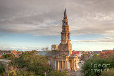Photograph - Focus On The Cross Church Steeple by Dale Powell