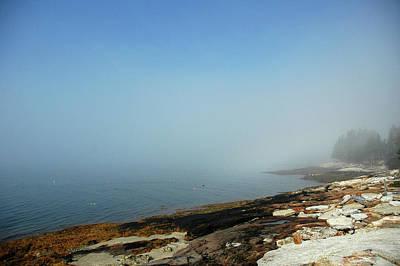 Photograph - Fog Burns Off by Mark Duehmig