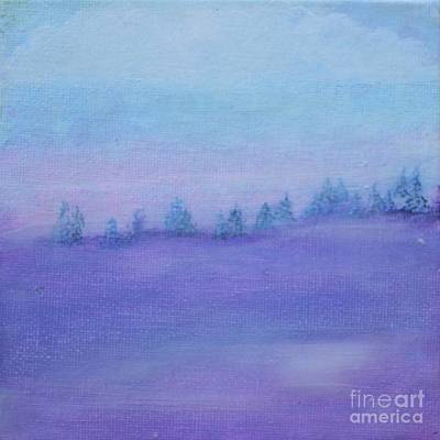 Painting - Fog Descending by Kim Nelson
