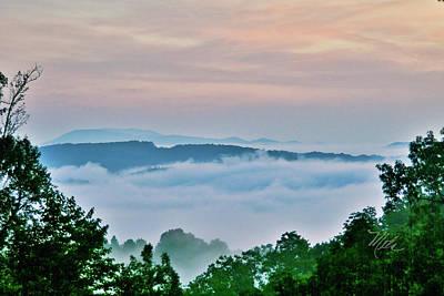 Photograph - Fog In Deer Valley by Meta Gatschenberger