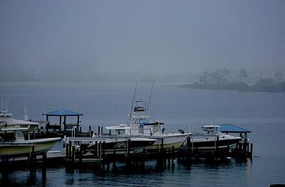 Photograph - Fog In Terry Cove by Norma Brock