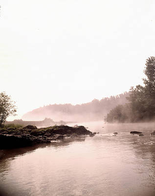 Photograph - Fog On Lake by Robert Natkin