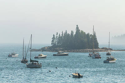 Photograph - Foggy Afternoon At Seal Harbor by Stefan Mazzola