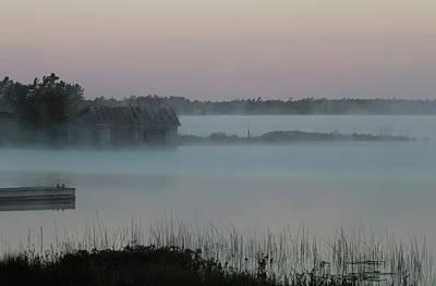 Music Figurative Potraits - Foggy Dawn by Debbie Oppermann