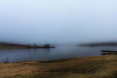 Photograph - Foggy Day On The Lake by Edward Peterson