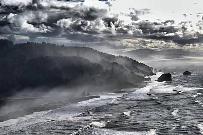 Photograph - Foggy Klamath River  by Debra Herman