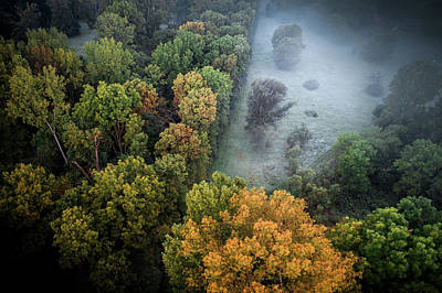 Photograph - Foggy Opening by Nick Smith