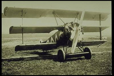 Photograph - Fokker Tri-plane Dr-1, World War I by Archive Holdings Inc.