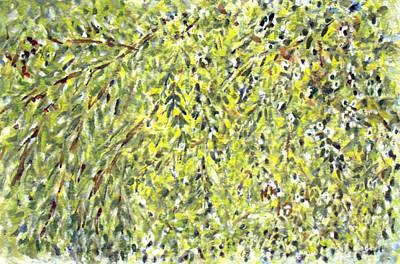 Painting - Foliage by Naini Kumar