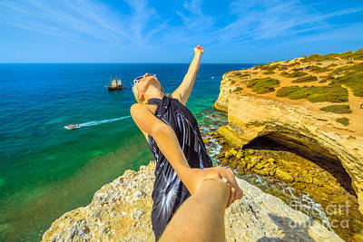 Photograph - Follow Me In Algarve by Benny Marty