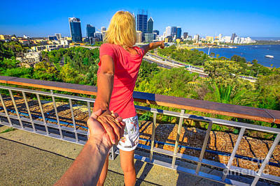 Photograph - Follow Me In Perth by Benny Marty