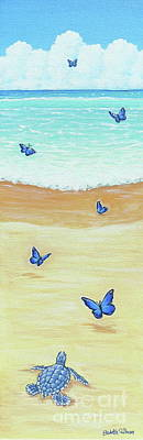 Painting - Follow The Butterflies by Elisabeth Sullivan