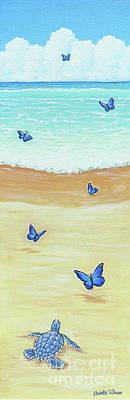 Follow The Butterflies Art Print