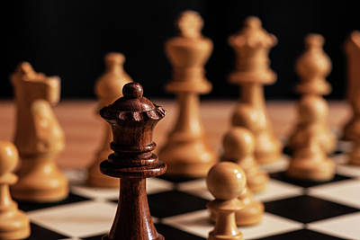 Photograph - Fool's Mate Checkmate Fastest Possible Checkmate by Toby McGuire