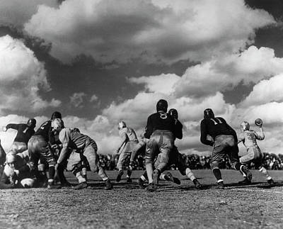 Photograph - Football Game by George Marks