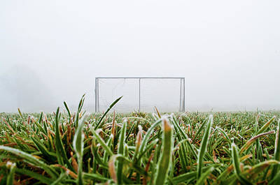 Photograph - Football Goal by Ulrich Mueller