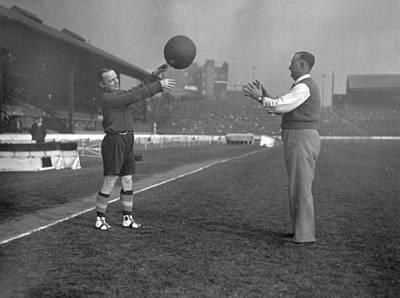 Photograph - Football Referee by H F Davis