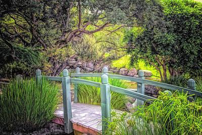 Photograph - Footbridge by Alison Frank