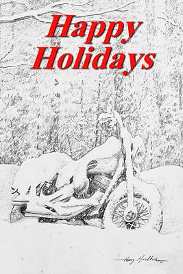 Drawing - For The Riders by Harry Moulton
