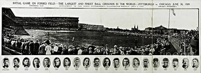 Photograph - Forbes Field Grand Opening 1909 by Unknown