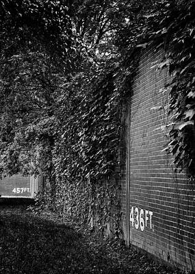 Athletes Royalty-Free and Rights-Managed Images - Forbes Field Wall by Stephen Stookey