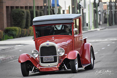 Photograph - Ford A Pickup by Bill Dutting