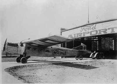 Ford Airport Art Print by General Photographic Agency