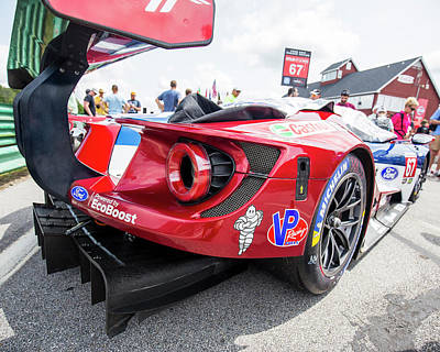 Photograph - Ford Gt Rear Angle by Alan Raasch