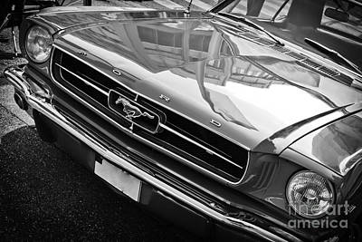 Photograph - Ford Mustang Vintage 2 by Jesse Watrous