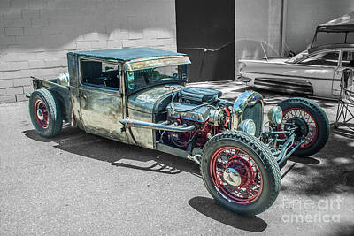 Photograph - Ford Rat Rod by Tony Baca