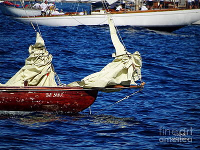 Photograph - Foredeck Before The Race by Lainie Wrightson