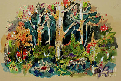 Painting - Forest And Trees by Terry Banderas